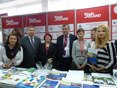 Education Fair in Ukraine